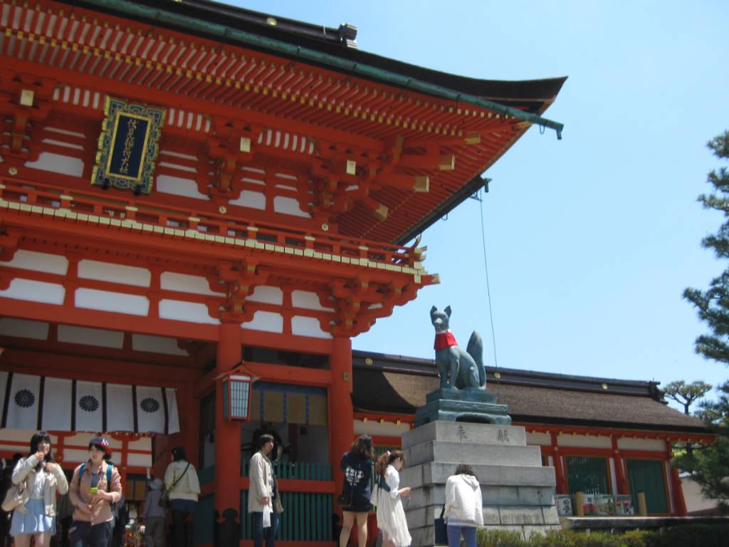 Tempel i Kyoto i Japan