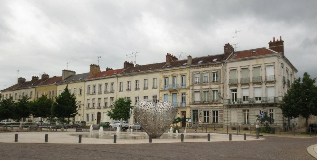 Hus på rad i Frankrike
