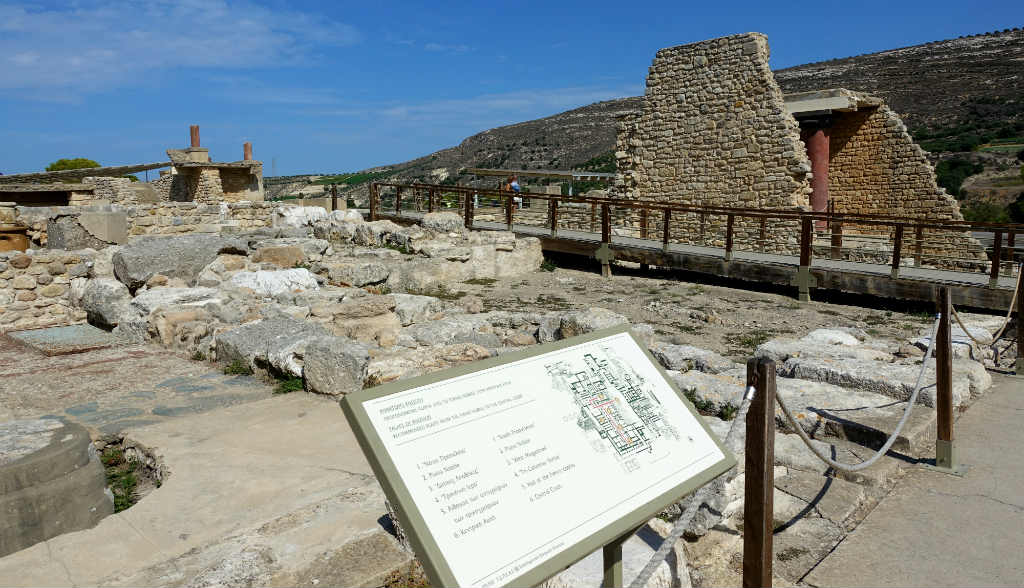 Utflykt till Knossos på Kreta