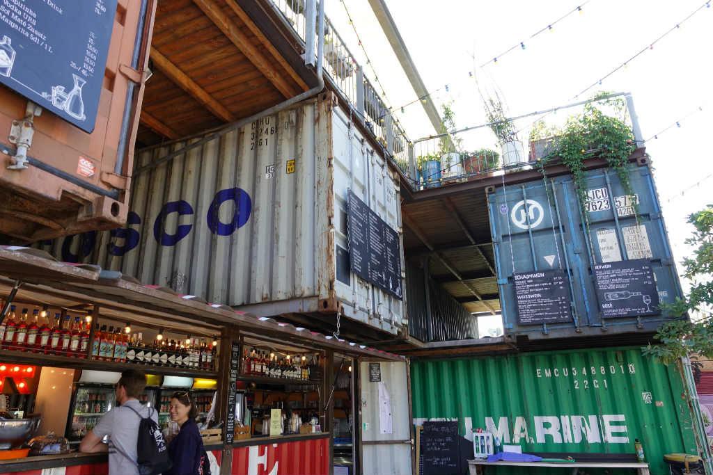 Containerbar i Zürich