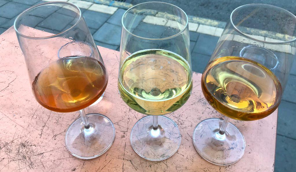 vinprovning amfora